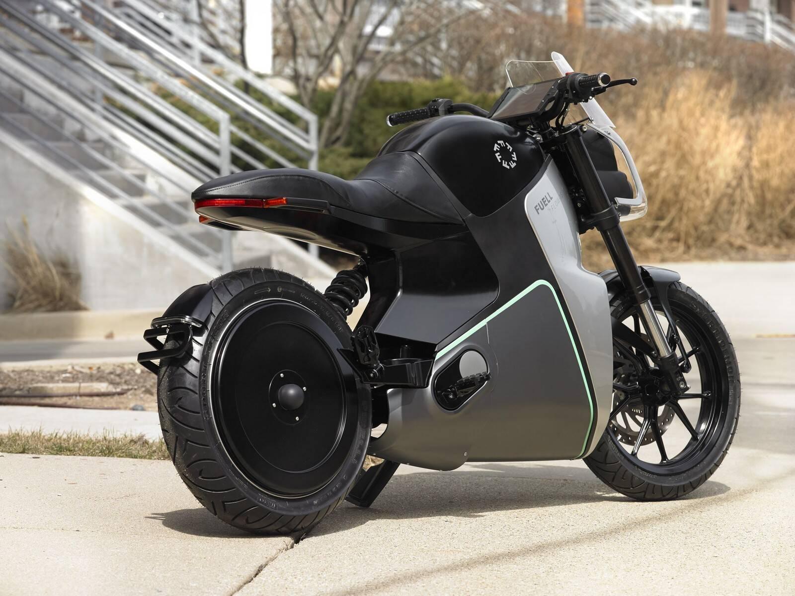 Motocicleta elétrica Buell. Foto: Divulgação