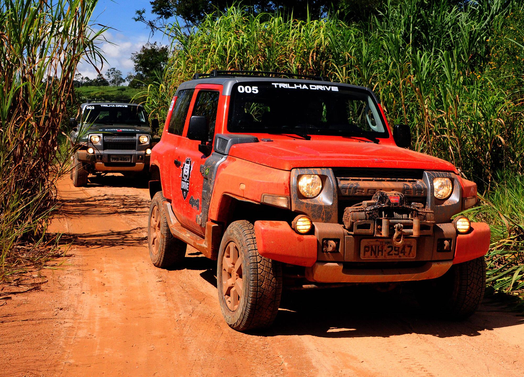 Troller T4. Foto: Divulgação/Ford