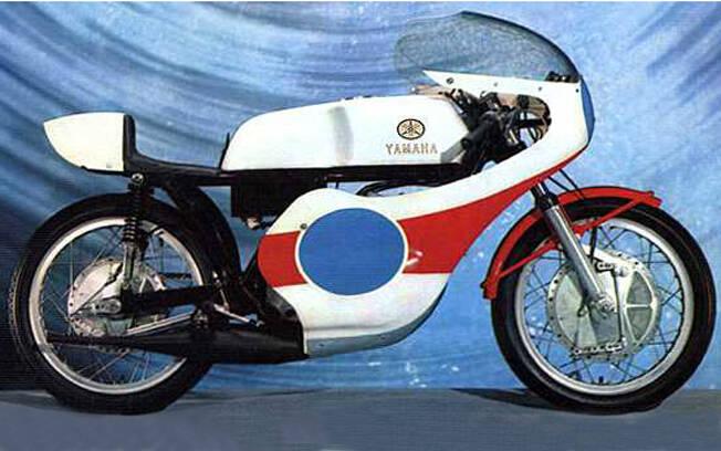 Yamaha TR-3 de 1972. Foto: Reprodução