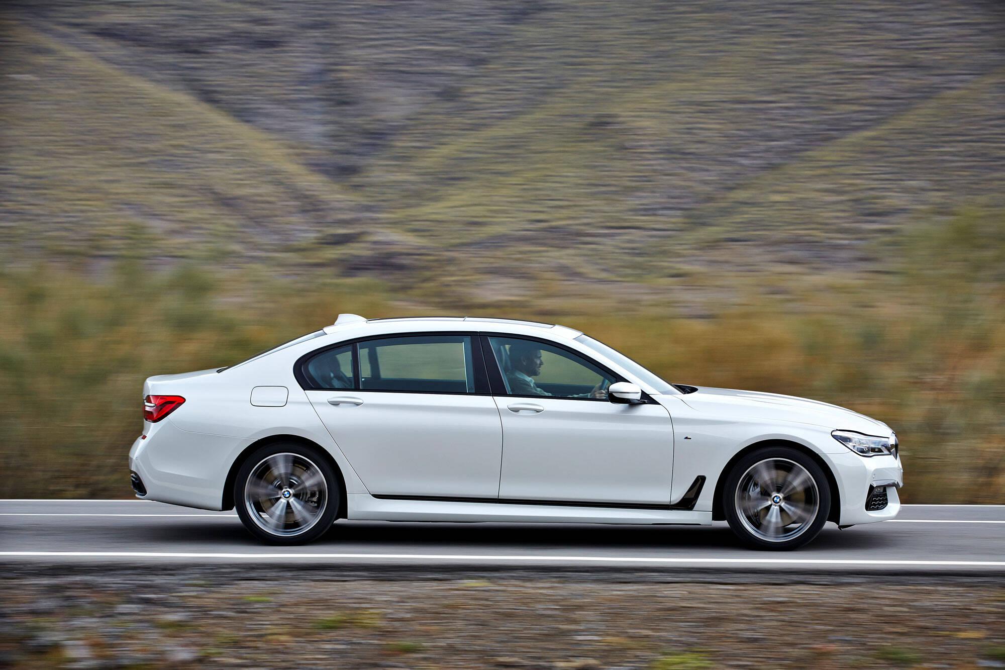 BMW 750Li M Sport. Foto: Divulgação/BMW