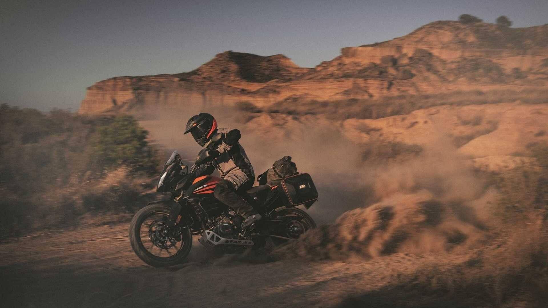KTM 390 Adventure. Foto: Divulgação