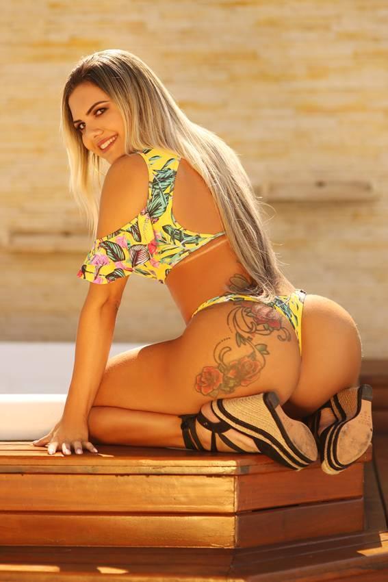 Bruna Bac, 27 anos, 112cm de bumbum, Sergipe, Empresária. Foto: Divulgação/CO Assessoria