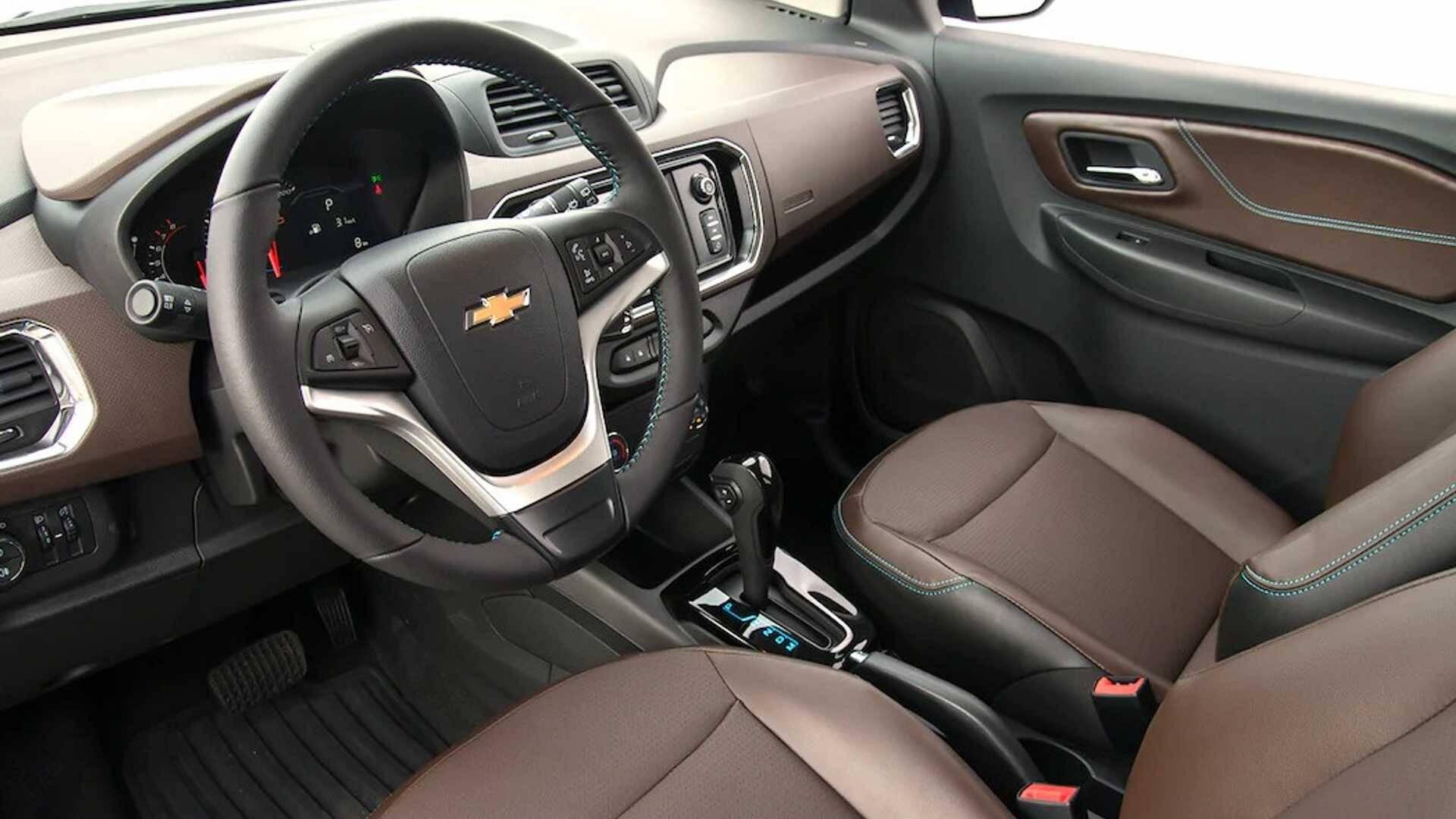Chevrolet Spin Premier 2020. Foto: Divulgação