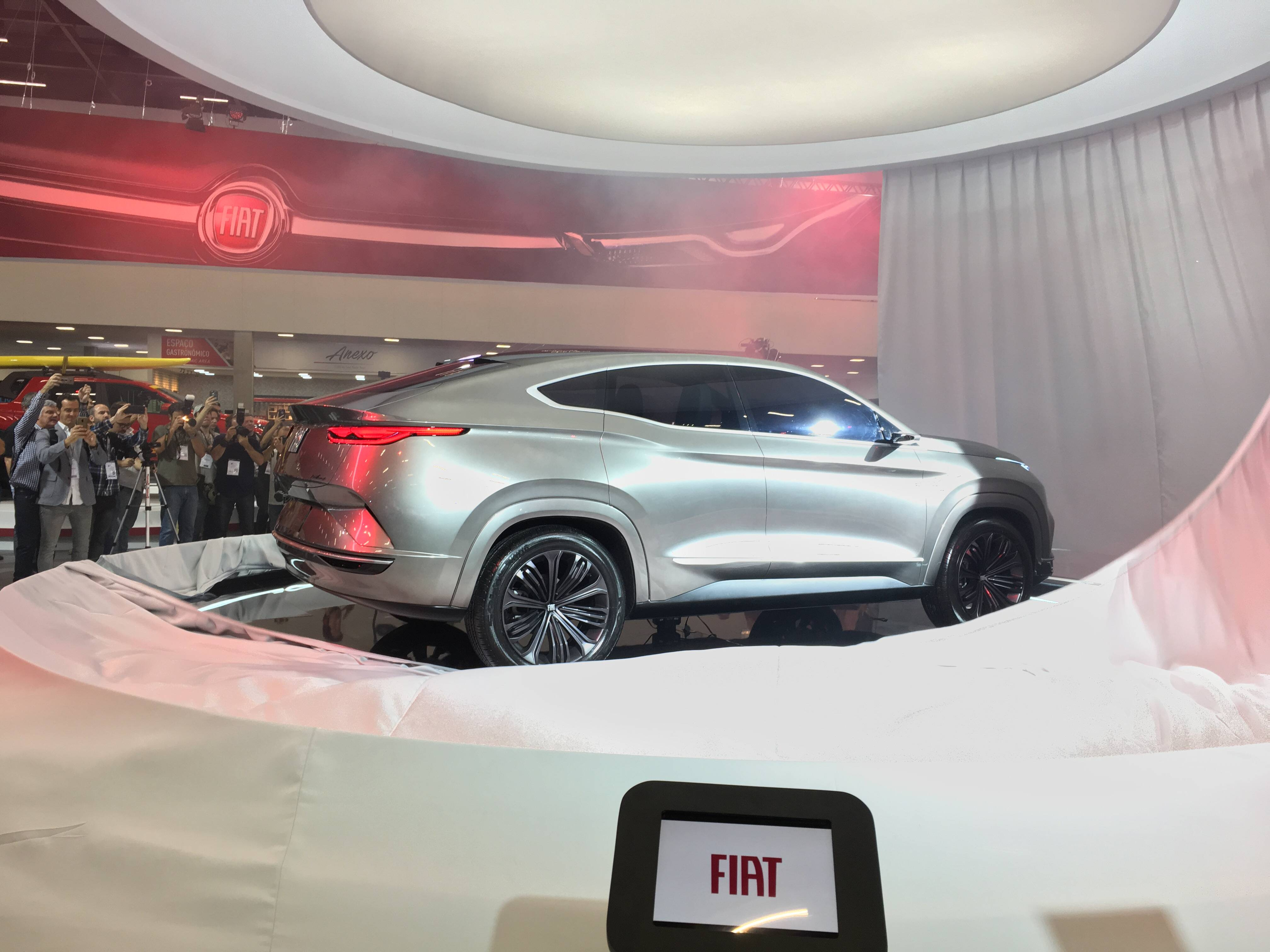 Fiat Fastback no Salão do Automóvel 2018. Foto: Guilherme Menezes/iG