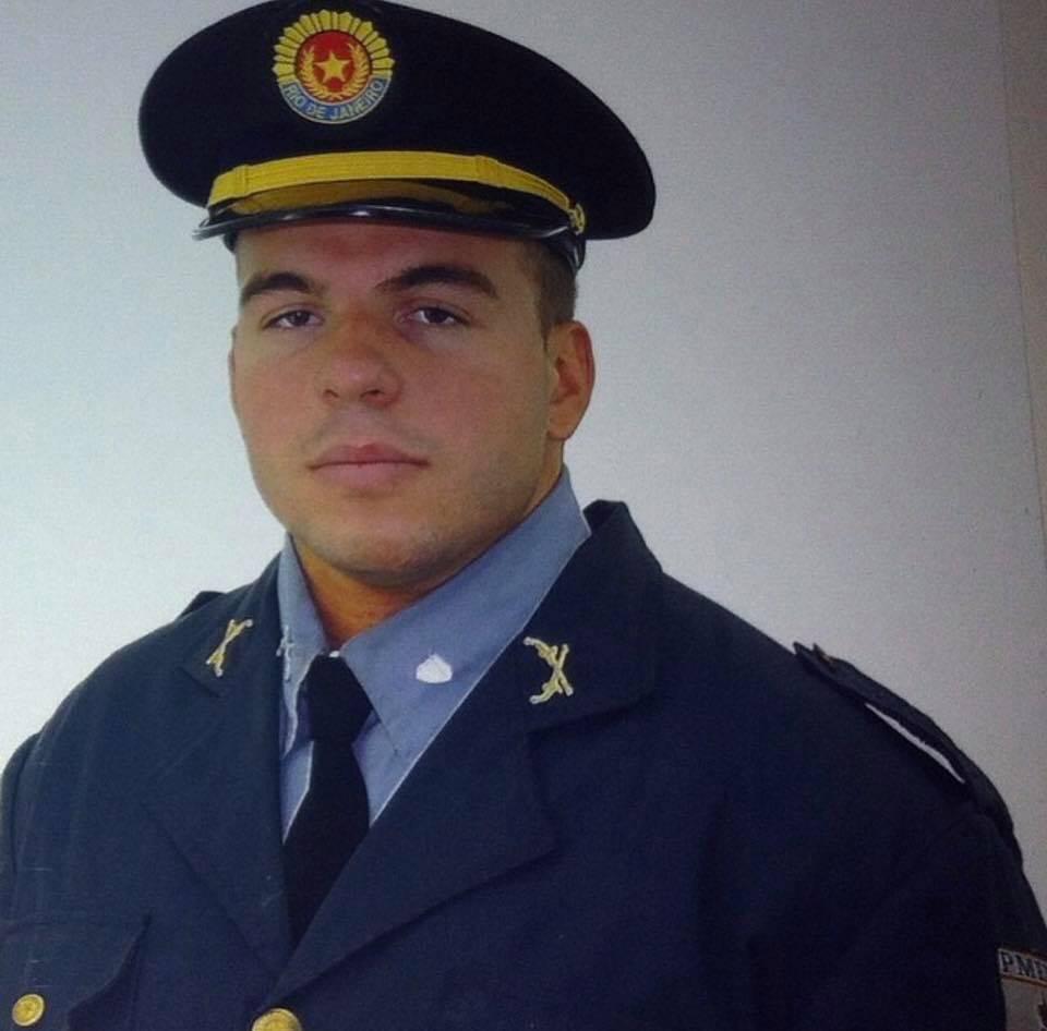 Policial morto no Rio de Janeiro. Foto: Reprodução/Facebook