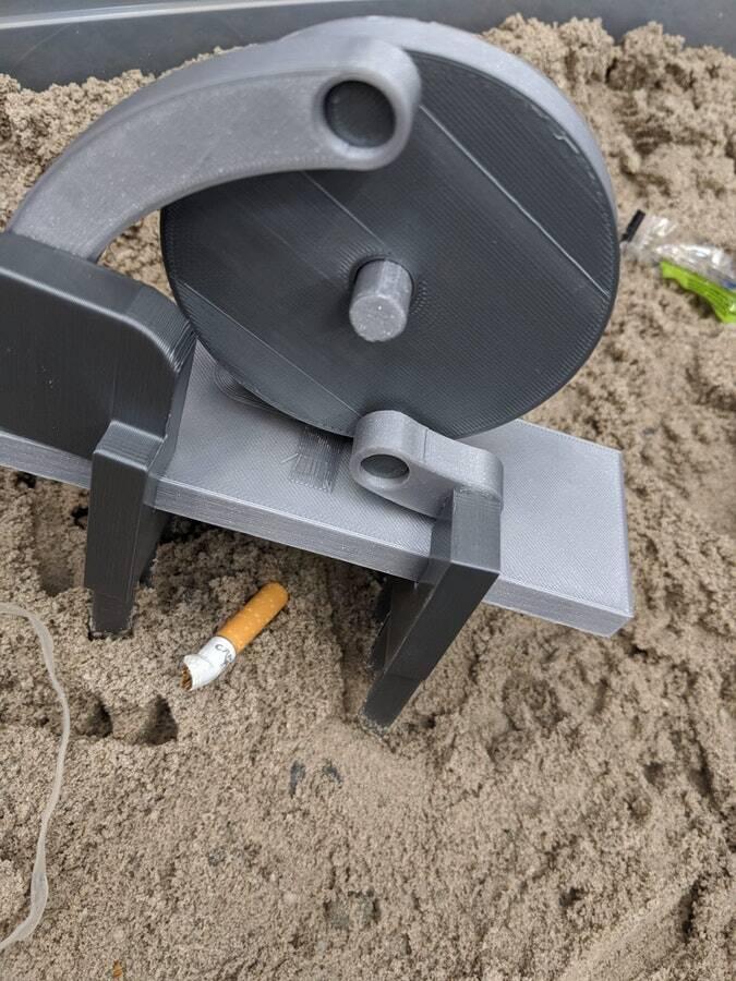 Beachbot. Foto: Divulgação