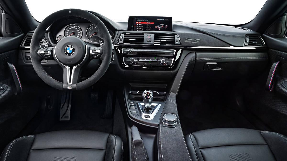 BMW M4 CS. Foto: Divulgação