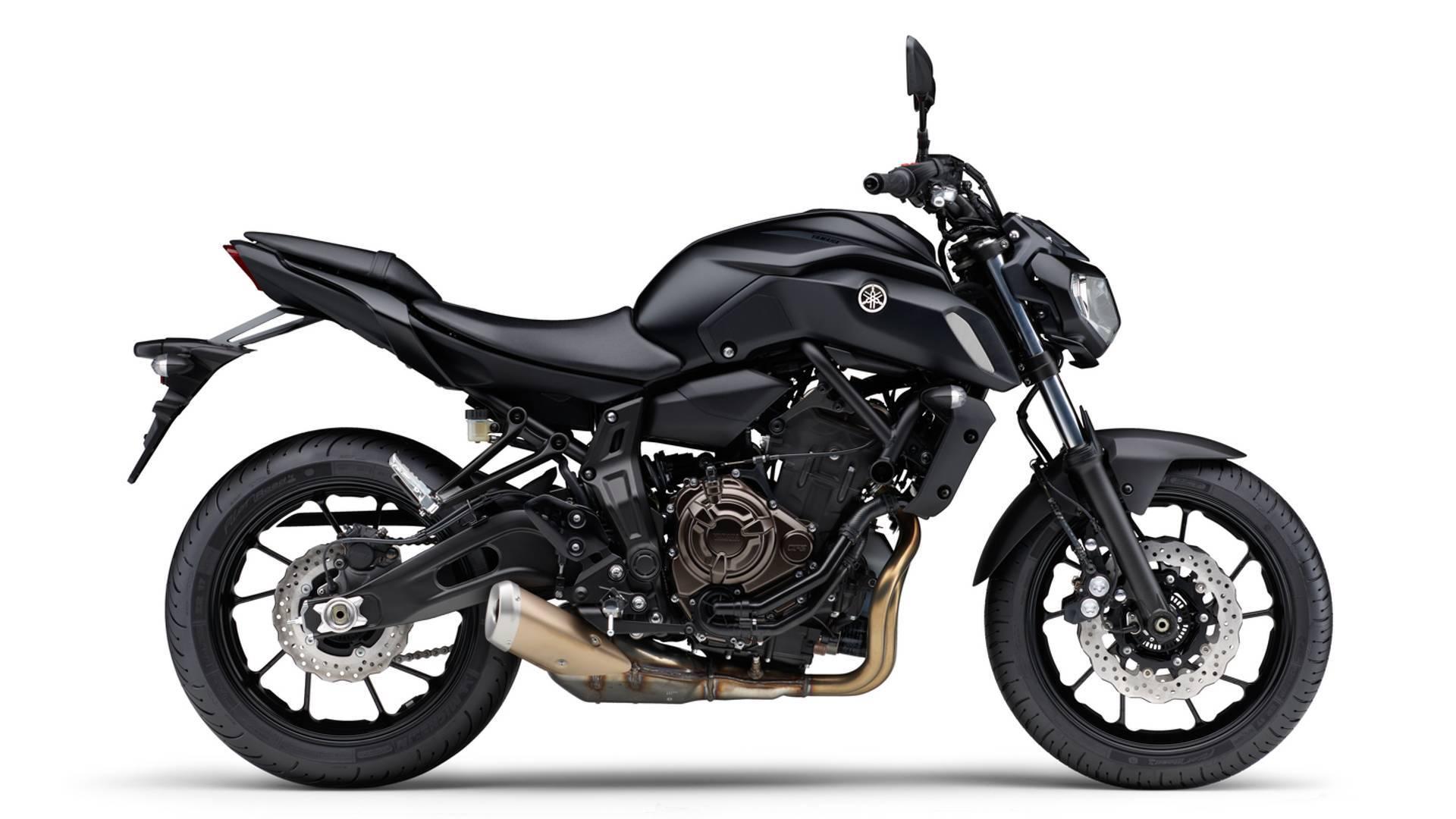 Yamaha MT-07. Foto: Divulgação
