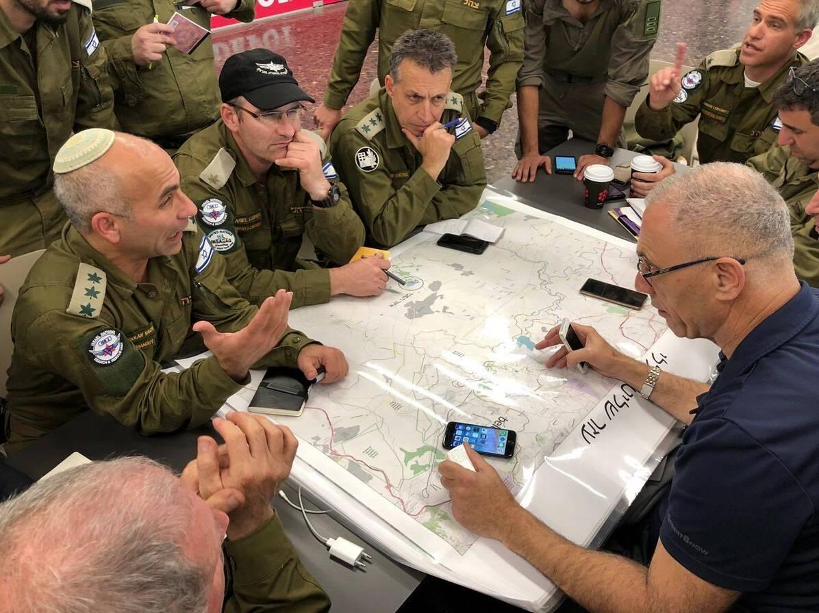 Equipe de Israel que ajuda Brumadinho já atuou em 25 desastres pelo mundo . Foto: Reprodução/Twitter/Forças de Defesa de Israel