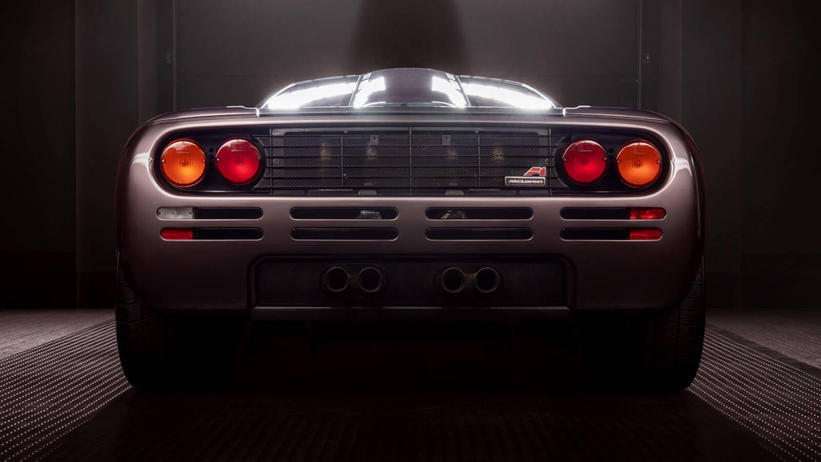 McLaren F1. Foto: Divulgação