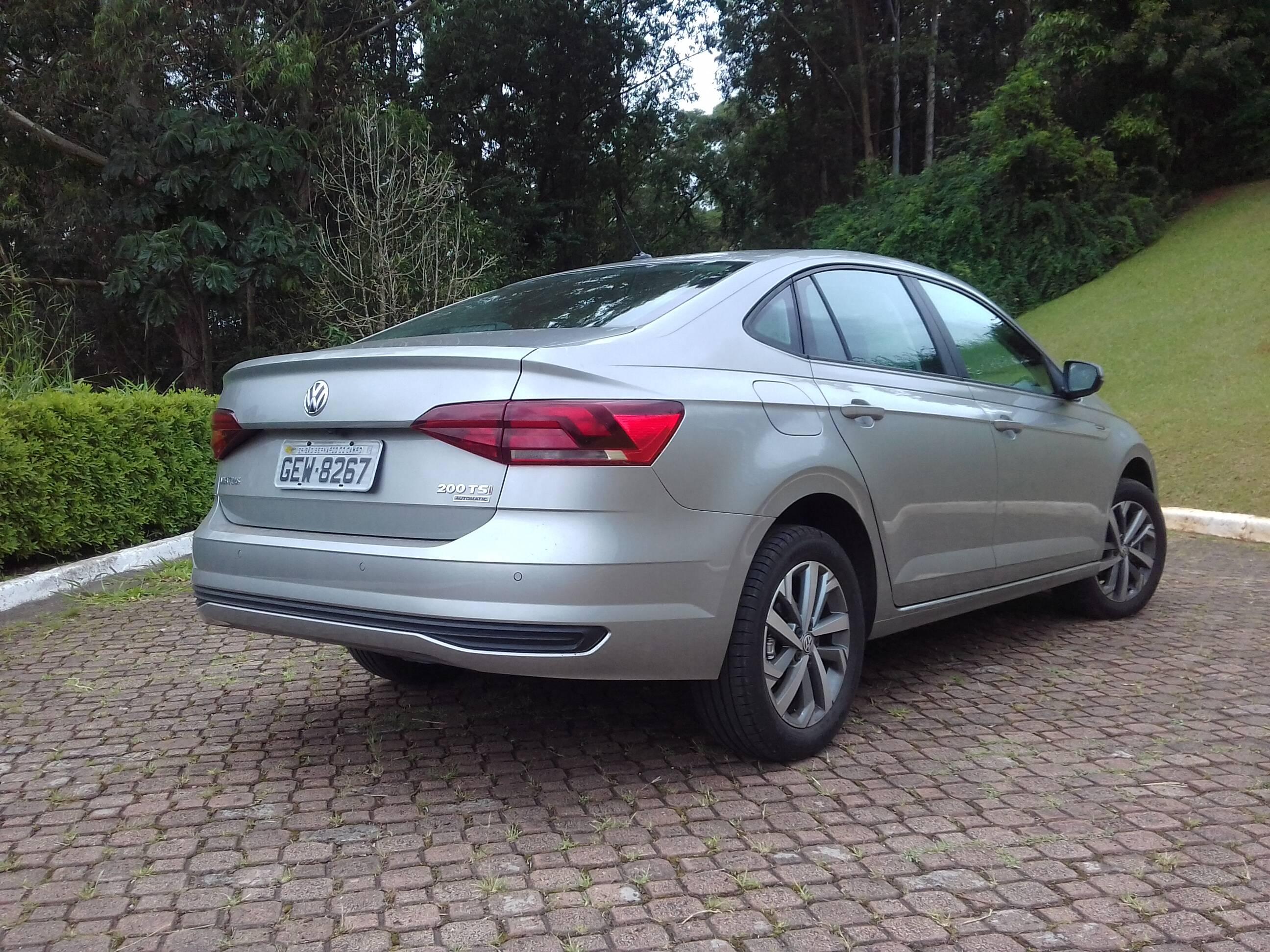 Volkswagen Virtus. Foto: Carlos Guimarães/iG
