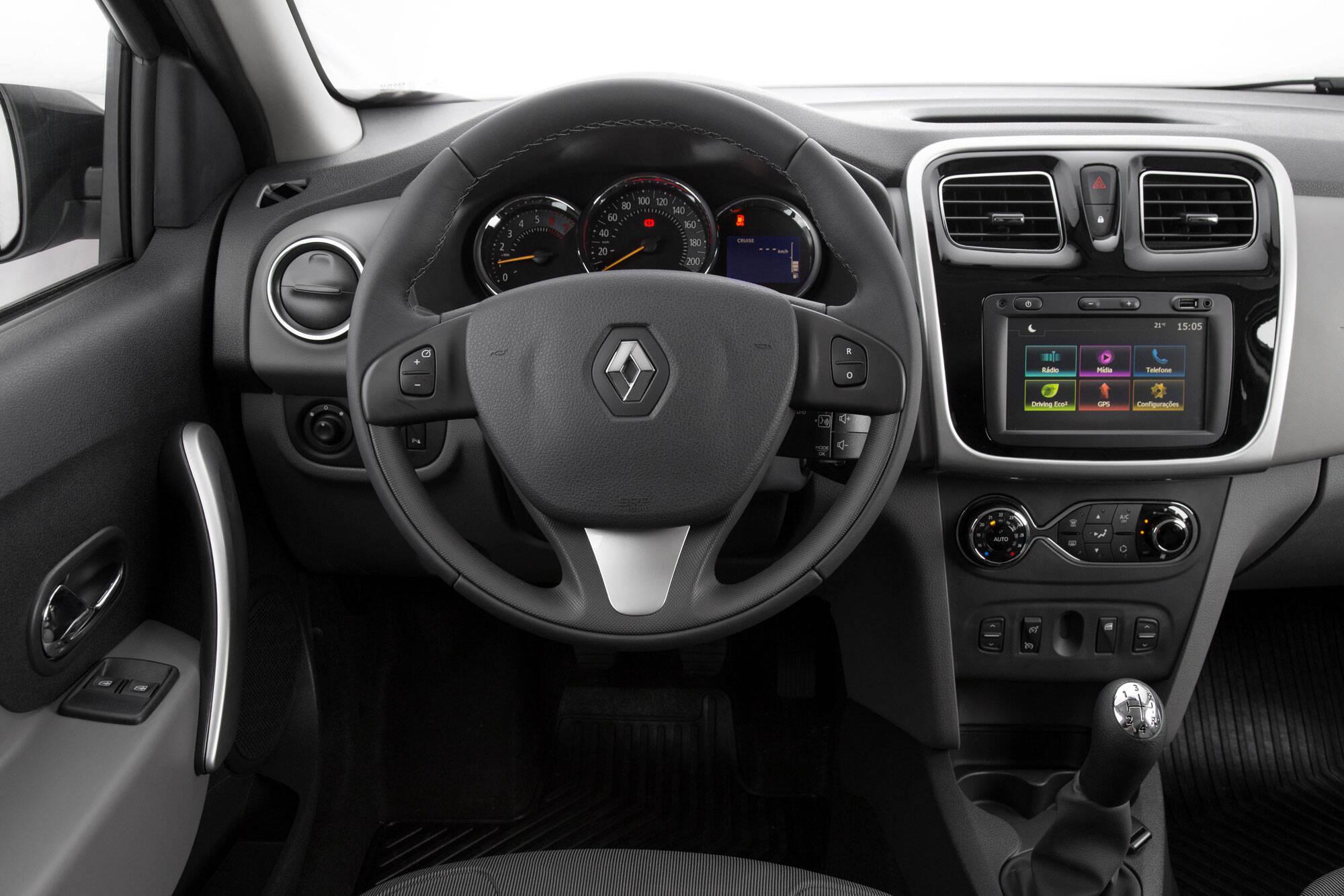Renault Logan 1.6 SCe. Foto: divulgação/Renault
