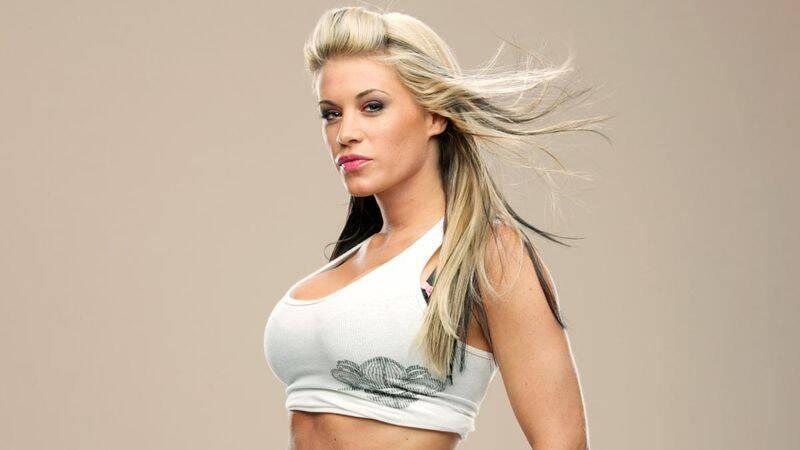Ashley Massaro, lutadora do WWE que morreu aos 39 anos de idade nos EUA. Foto: Divulgação / Reprodução