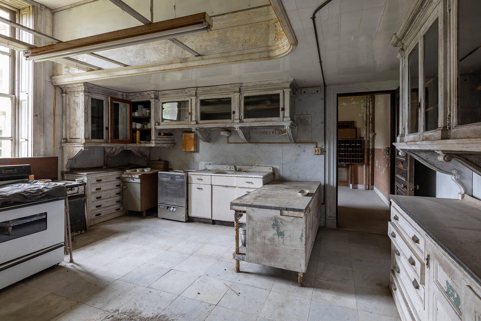 Cozinha. Foto: Reprodução/ Abandoned Southeast