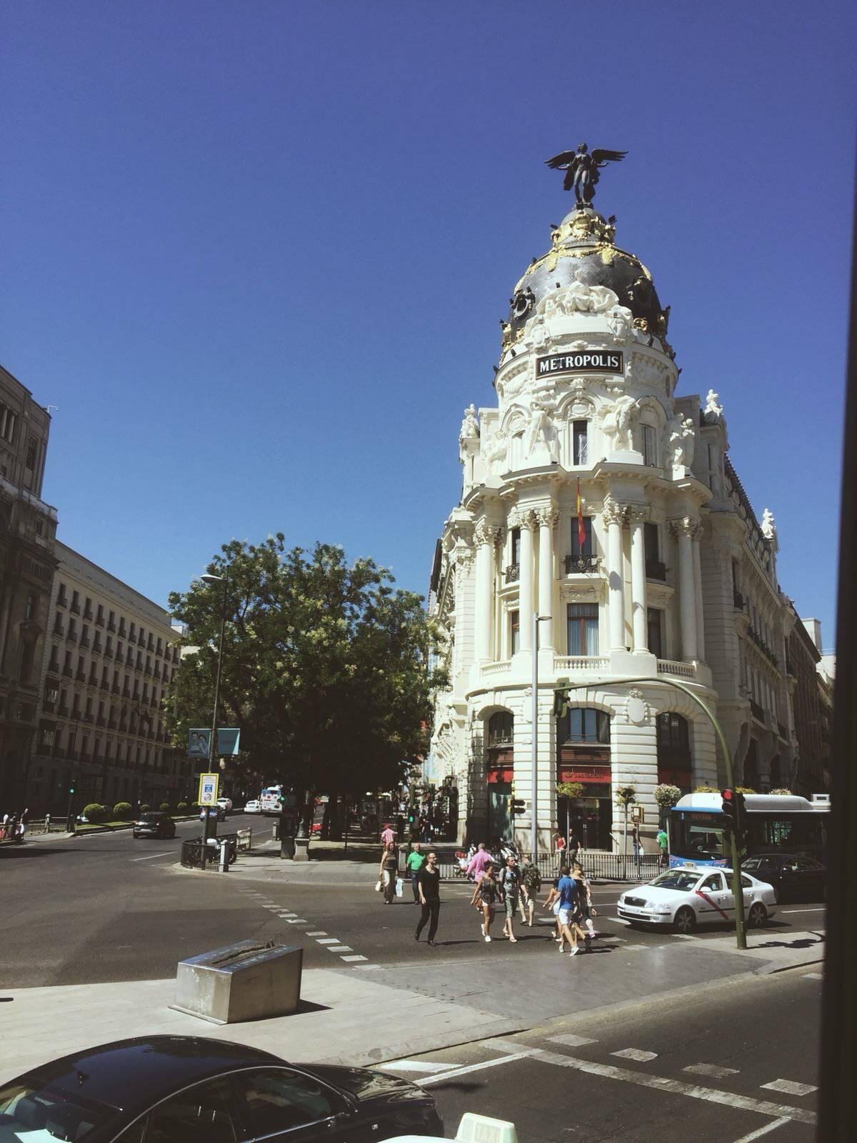 Madri, Espanha. Foto: Reprodução/Instagram