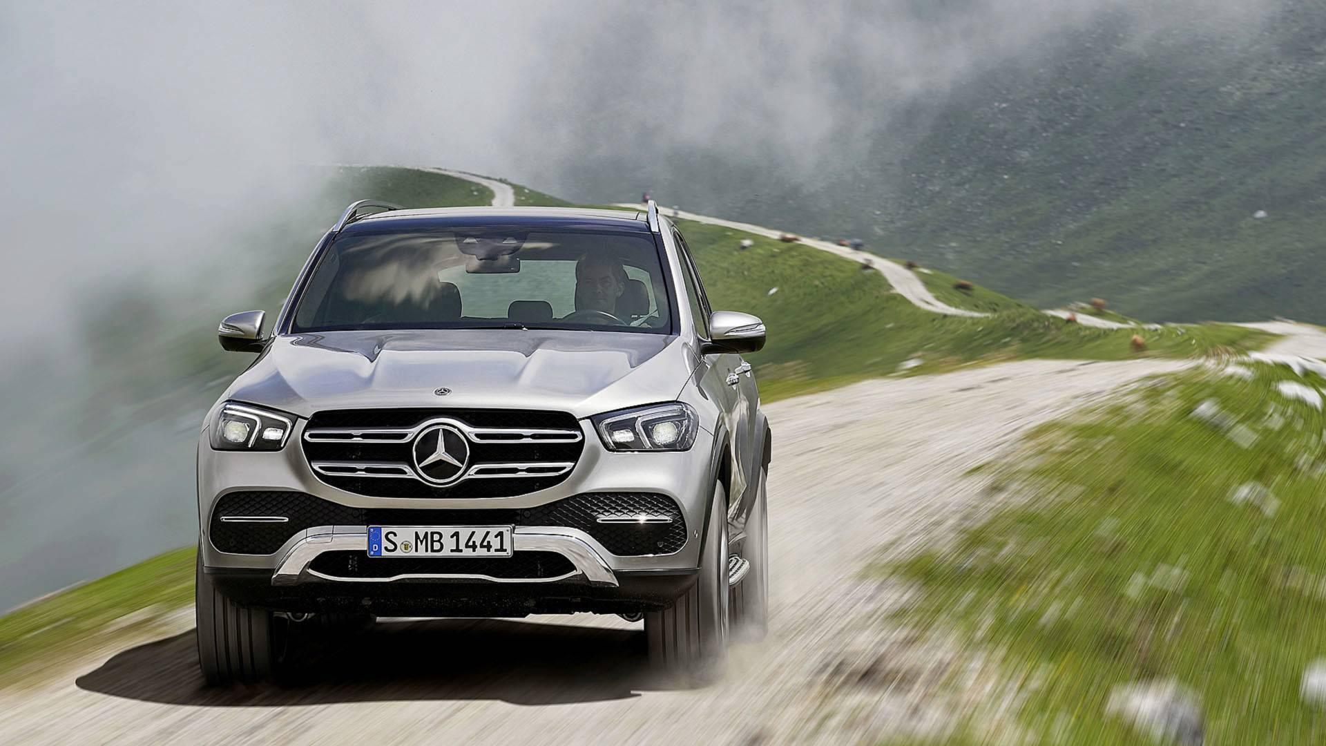 Mercedes-Benz GLE. Foto: Divulgação