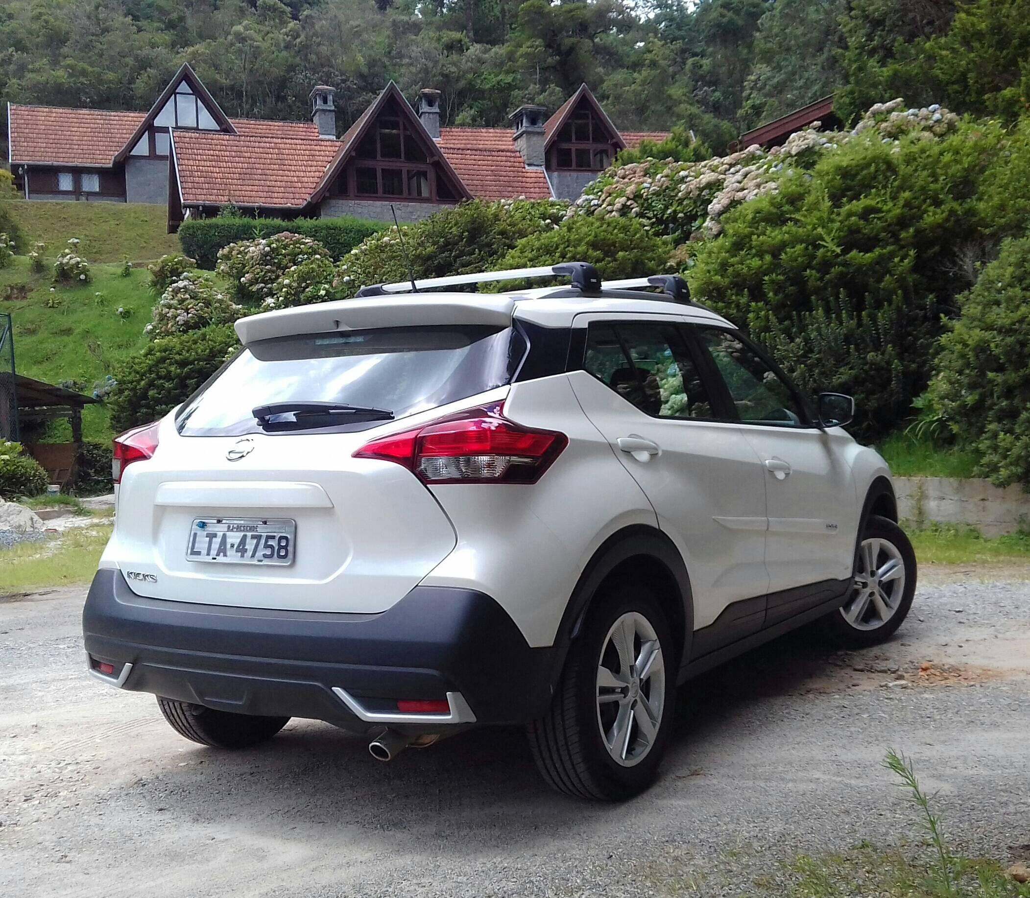 Nissan Kicks S. Foto: Divulgação