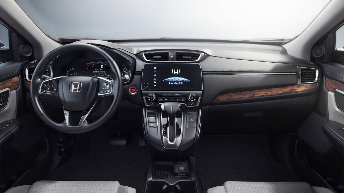 Honda CR-V. Foto: Divulgação/Honda