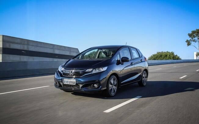 Honda Fit - Depreciação de 9,7%. Foto: Divulgação