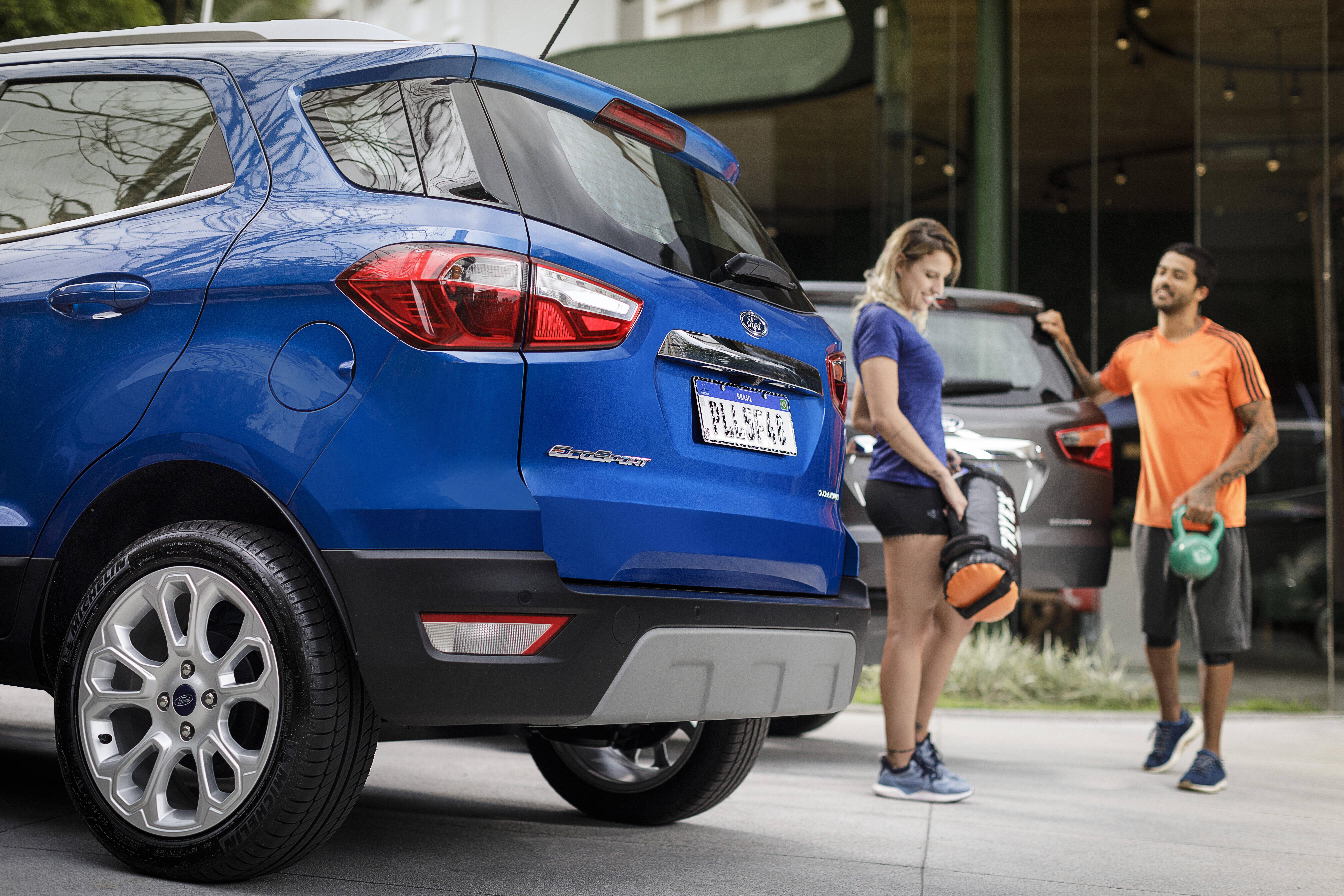 Ford EcoSport 2019. Foto: Divulgação