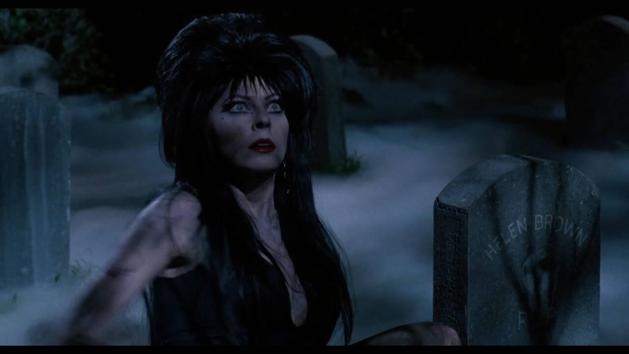 Uma das principais personagens do horror, Elvira se tornou símbolo cult e é adorada até hoje. Foto: Reprodução