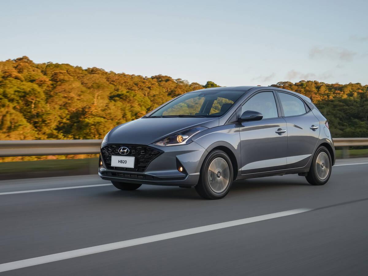 Hyundai HB20 1.0 Turbo. Foto: Divulgação