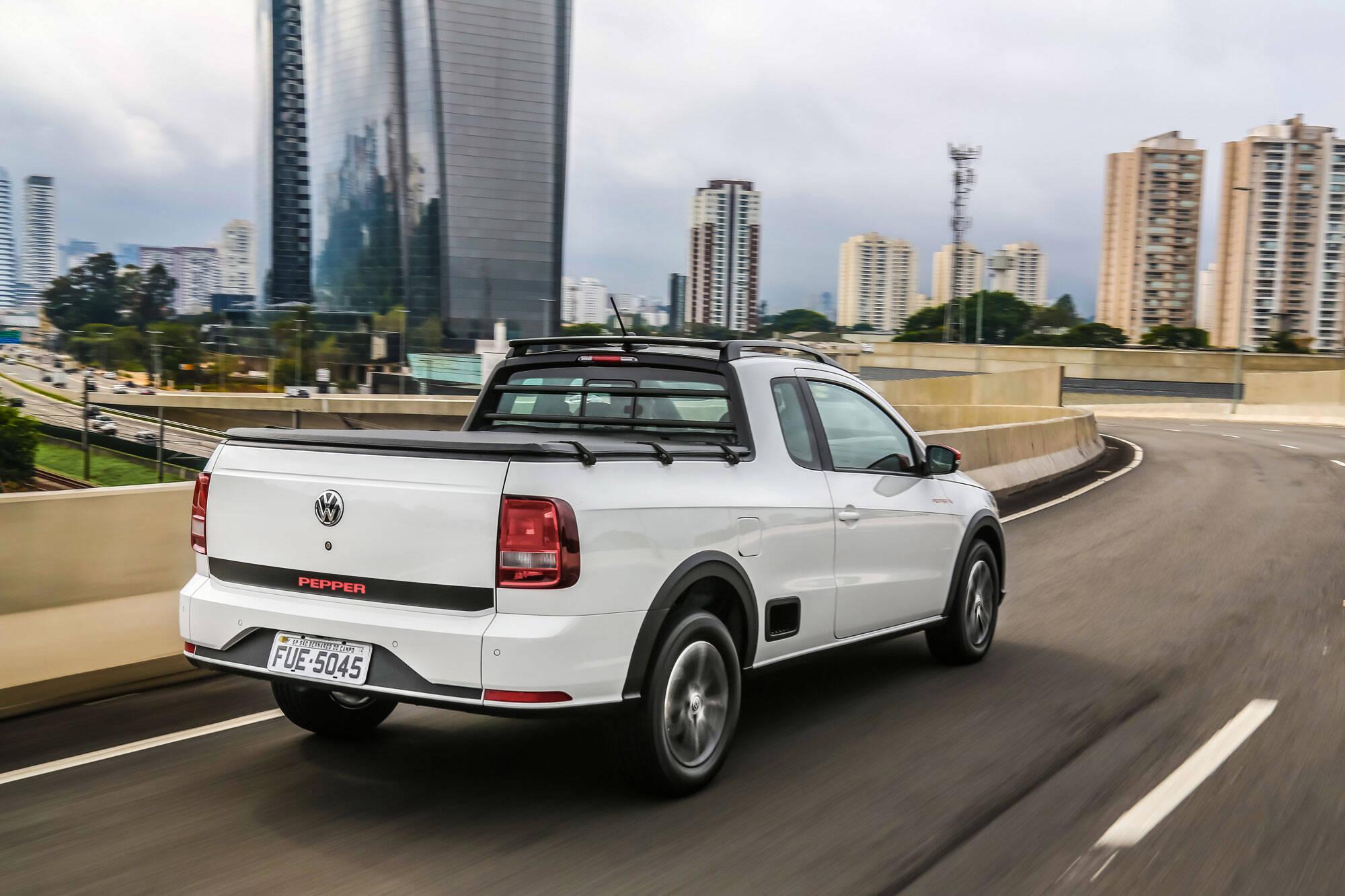 Volkswagen Saveiro Pepper. Foto: Divulgação/Volkswagen