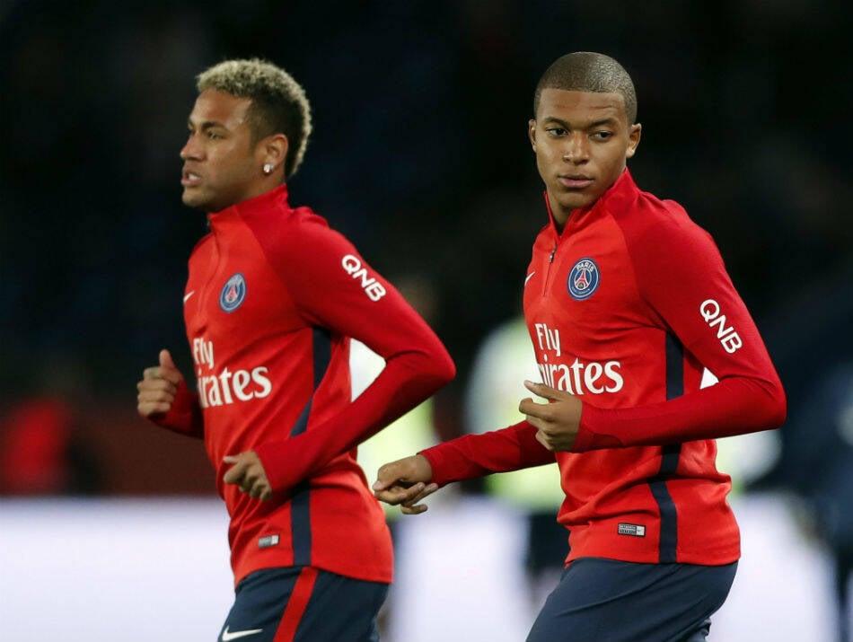 Juntos, Mbappé e Neymar somam cerca de R$ 1,5 bilhão ao Paris Saint-Germain. Foto: Reprodução
