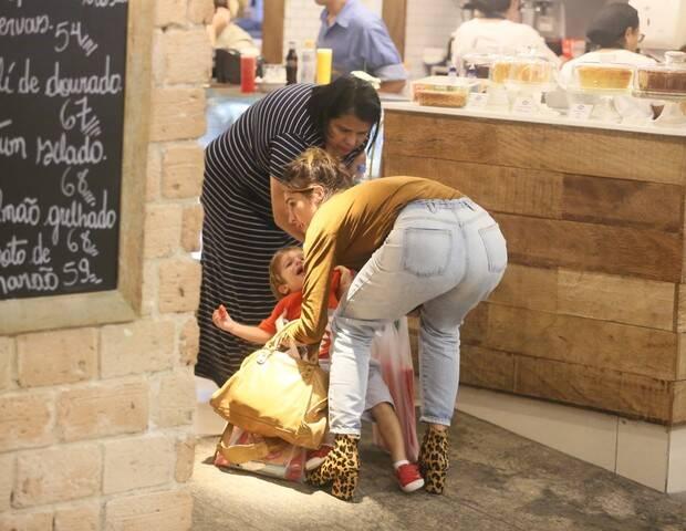 Filho de Rafa Brites dá chilique e apresentadora faz textão na internet. Foto: AgNews