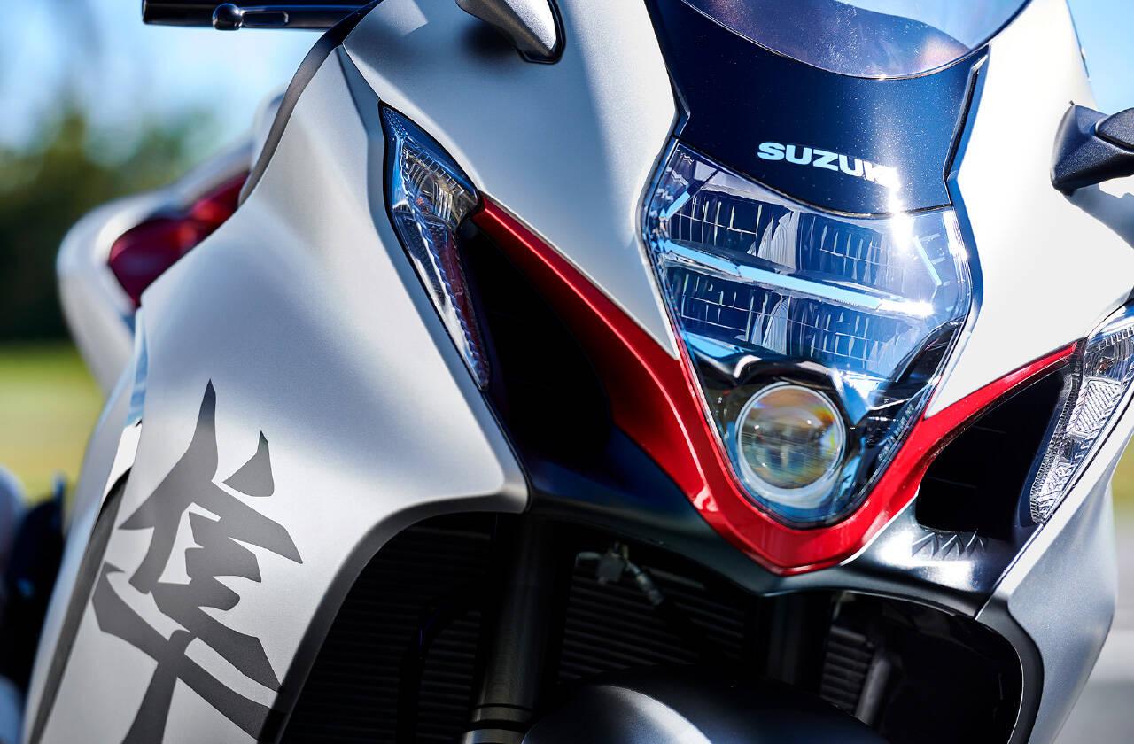 Suzuki Hayabusa 2021. Foto: Divulgação