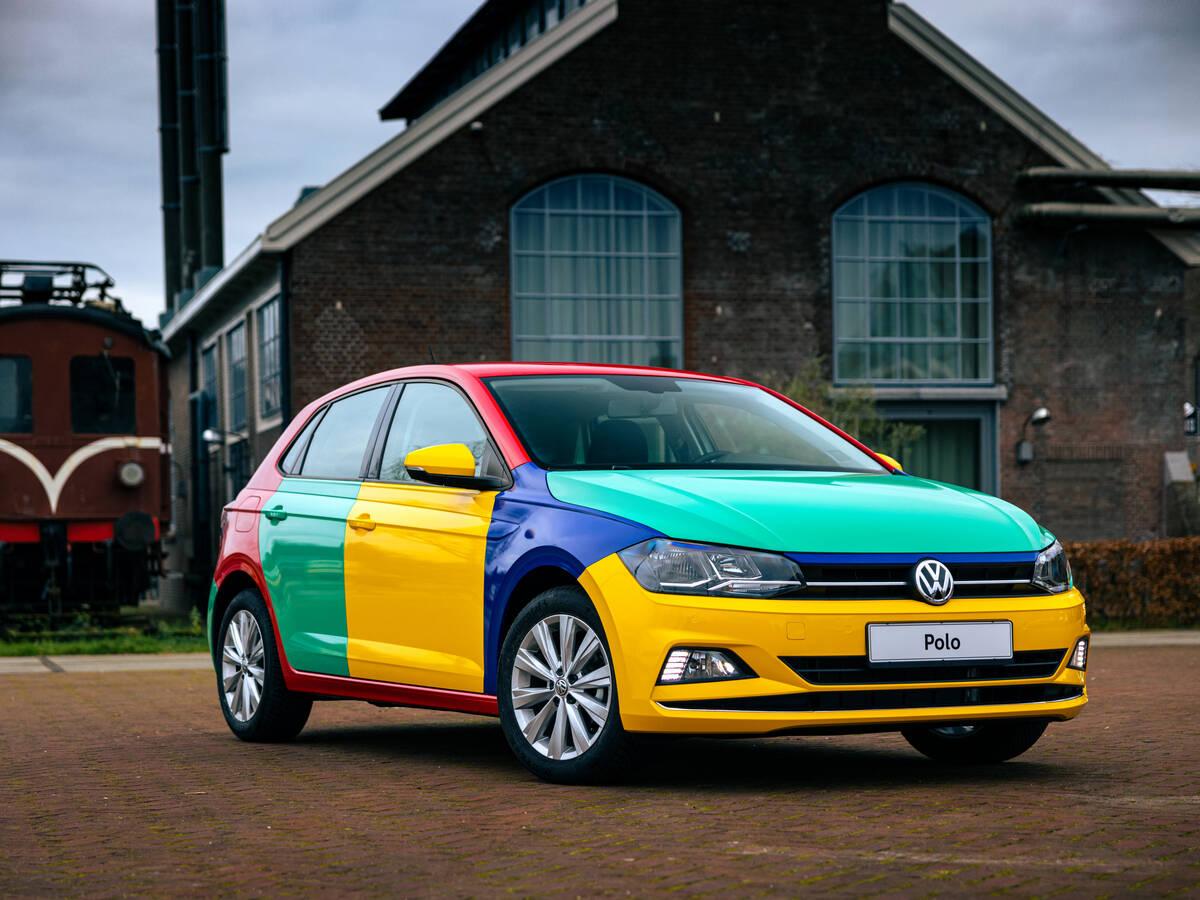 Volkswagen Polo Harlekin. Foto: Divulgação