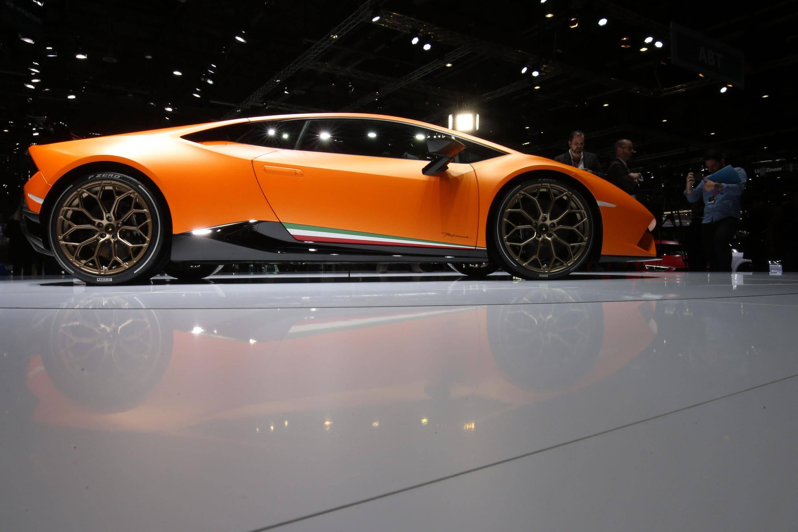 Lamborghini Huracán Performante. Foto: Divulgação