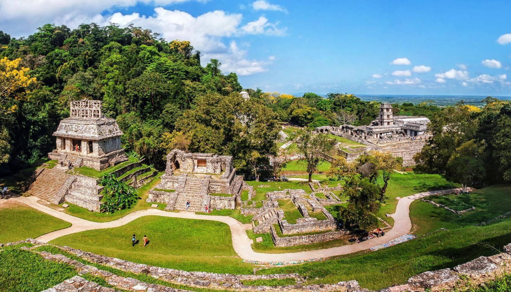 Ruínas Palenque, no México. Foto: Kayak