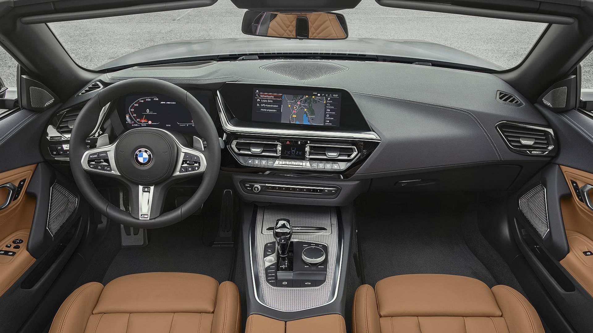 BMW Z4. Foto: Divulgação