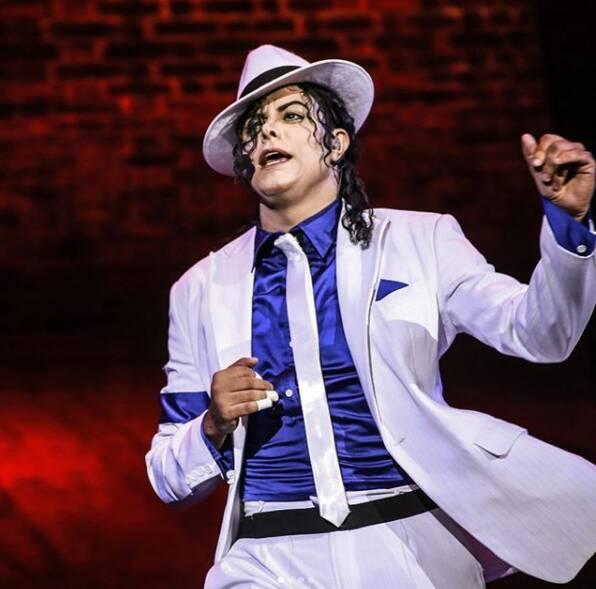 Rodrigo Teaser, cover do Michael Jackson. Foto: Reprodução/ Instagram