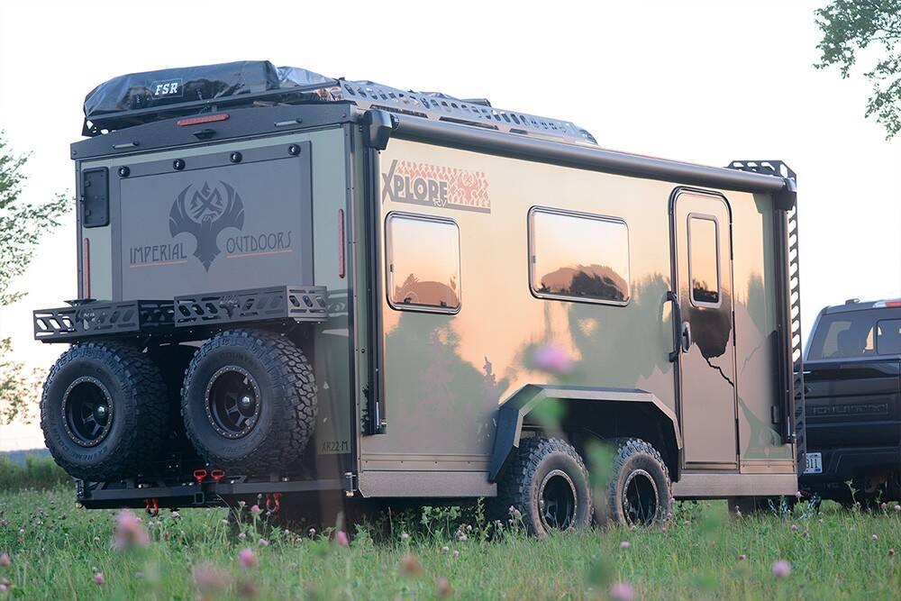 Trailer Motorhome XploreRV. Foto: Divulgação