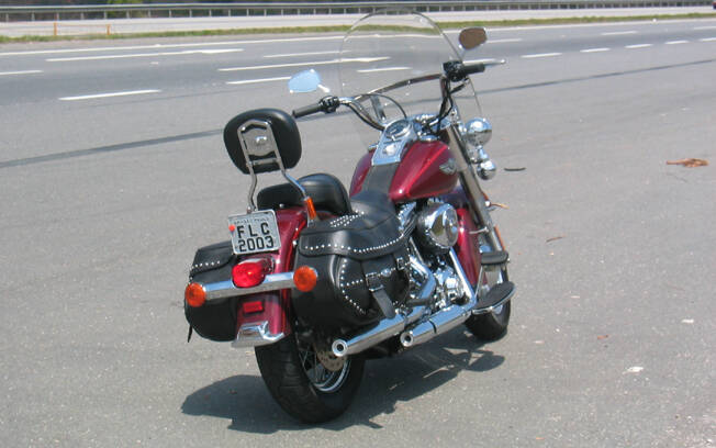 Harley-Davidson Heritage Softail Classic 2003 . Foto: Gabriel Marazzi