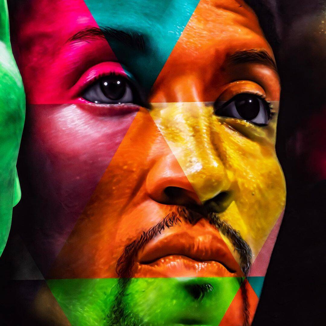 Mural - Neymar. Foto: Reprodução / Instagram
