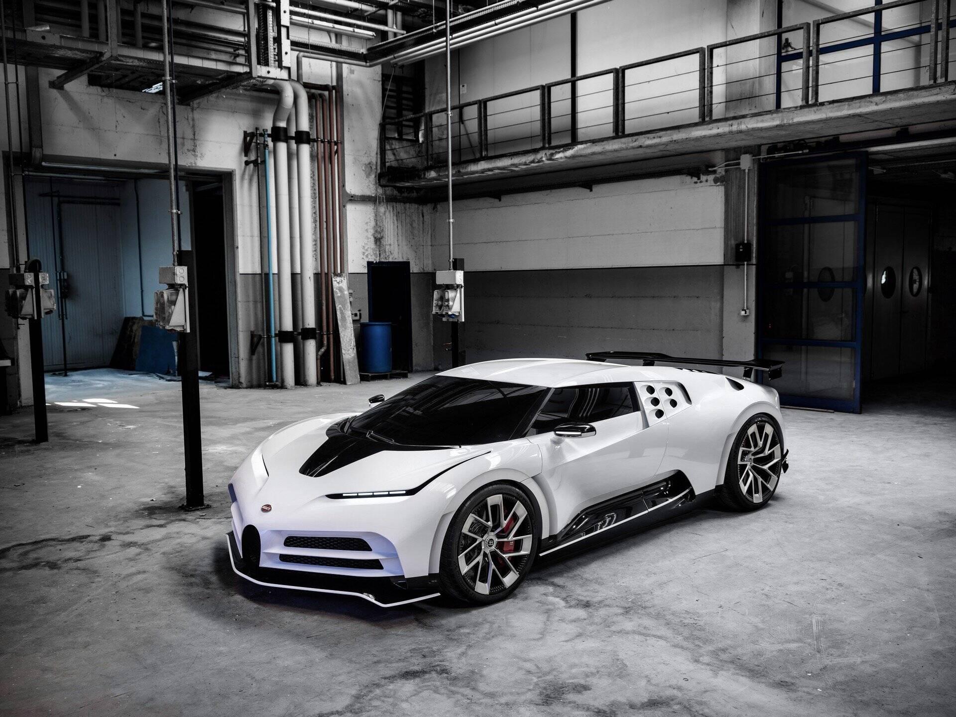 Bugati Centodieci. Foto: Bugatti Centodieci