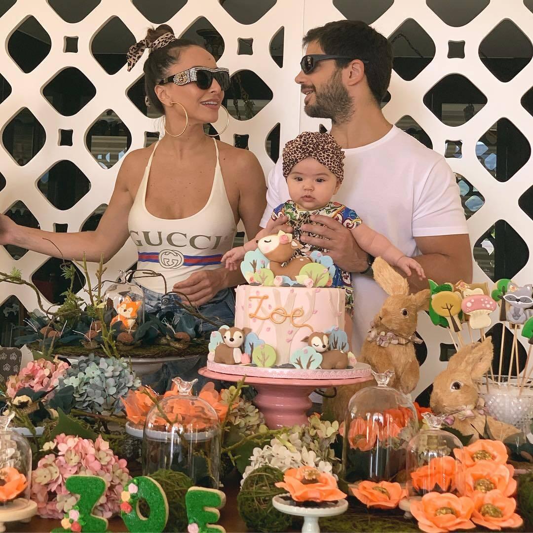 Veja detalhes da festa de 5 meses de Zoe. Foto: Reprodução/Instagram