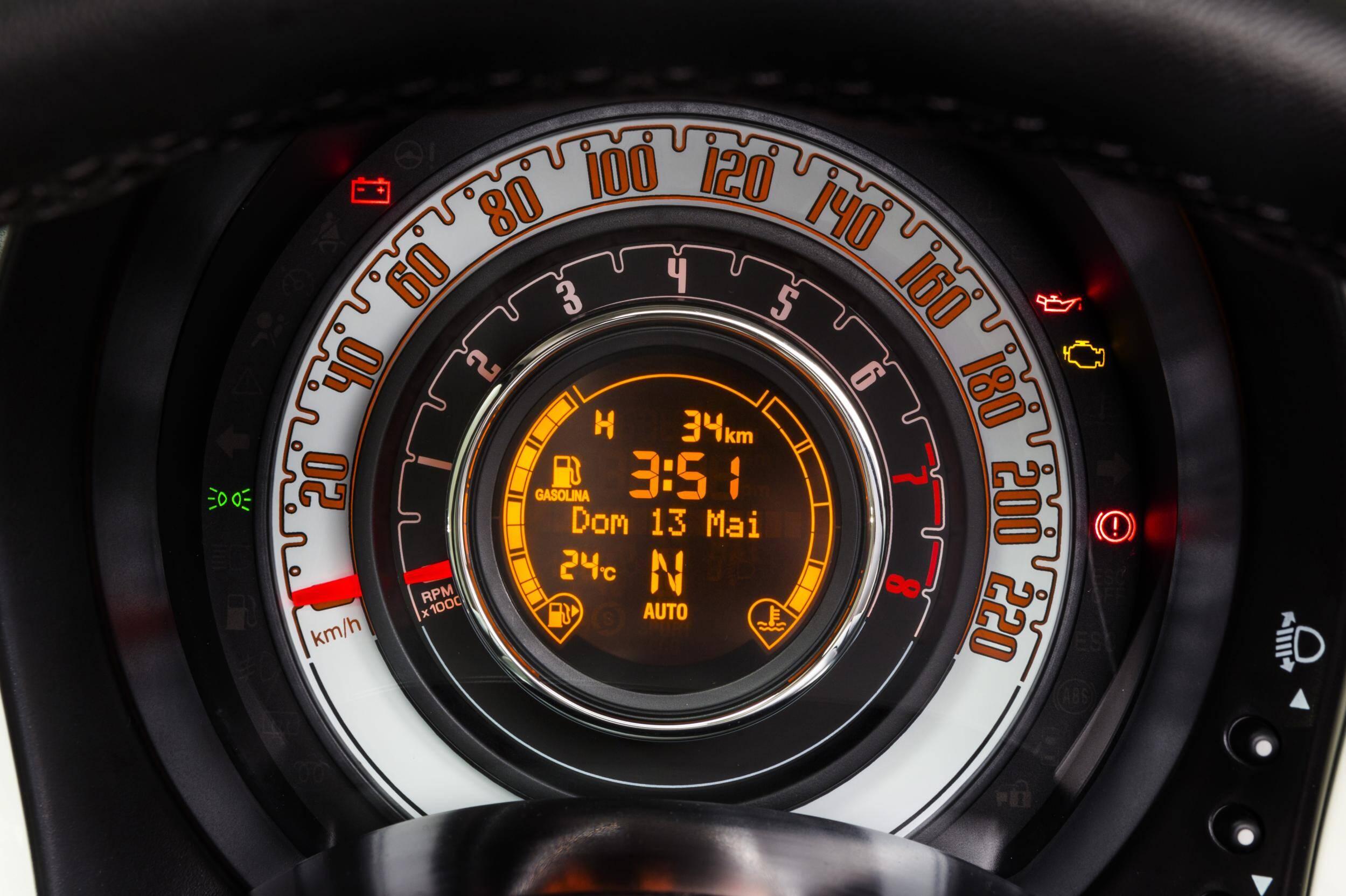 Fiat 500 Cabrio 1.4 Flex. Foto: Divulgação