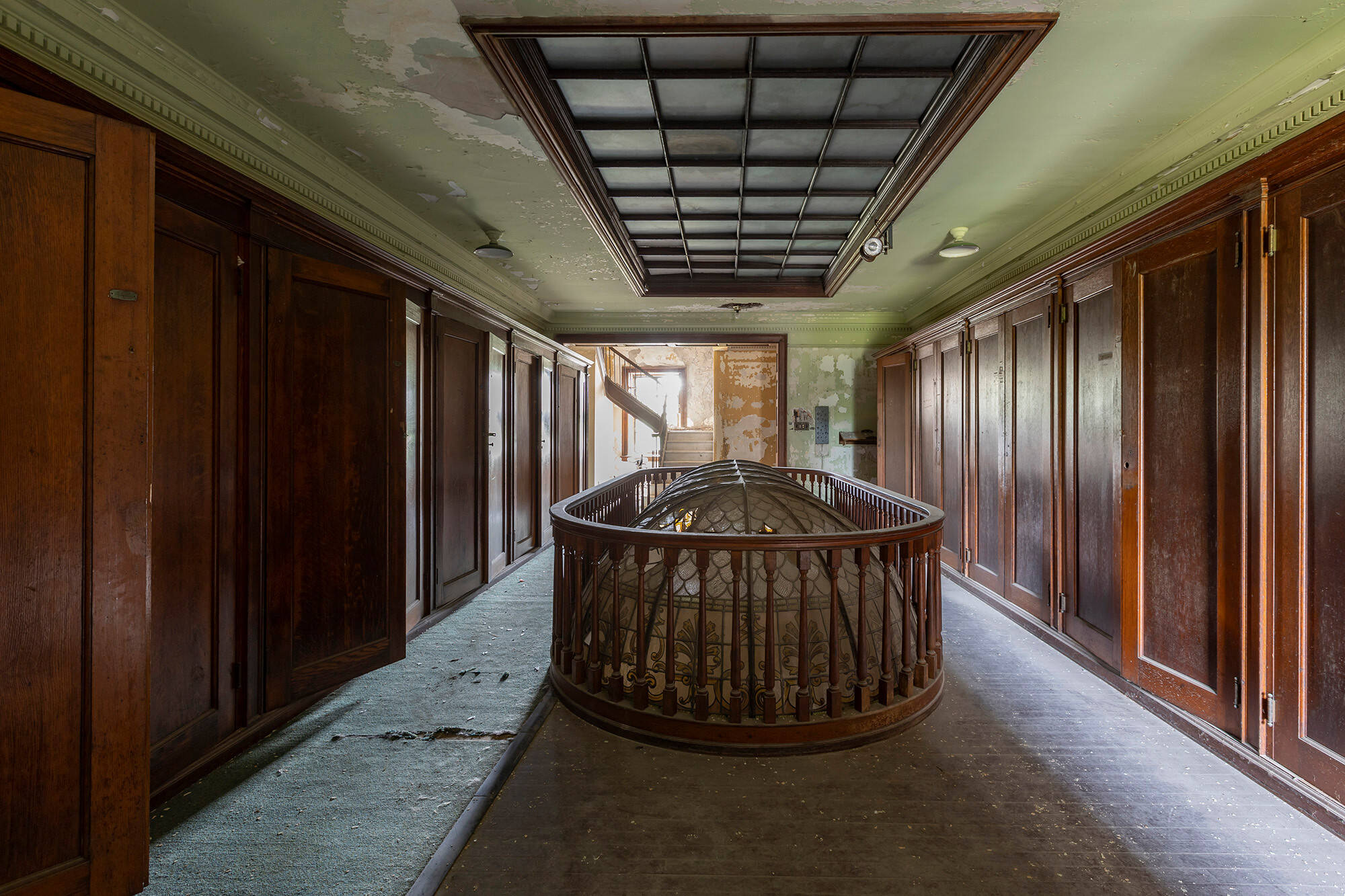 Corredor. Foto: Reprodução/ Abandoned Southeast