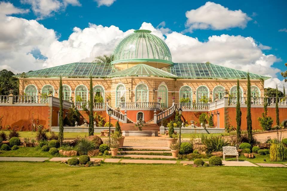 Espaço Villa Giardini impressiona por ambientações românticas . Foto: Reprodução/Villa Giardini
