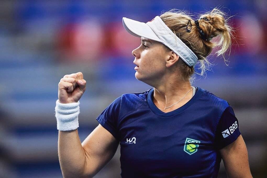 4. Laura Pigossi (Bronze tênis) - 215%. Foto: Instagram