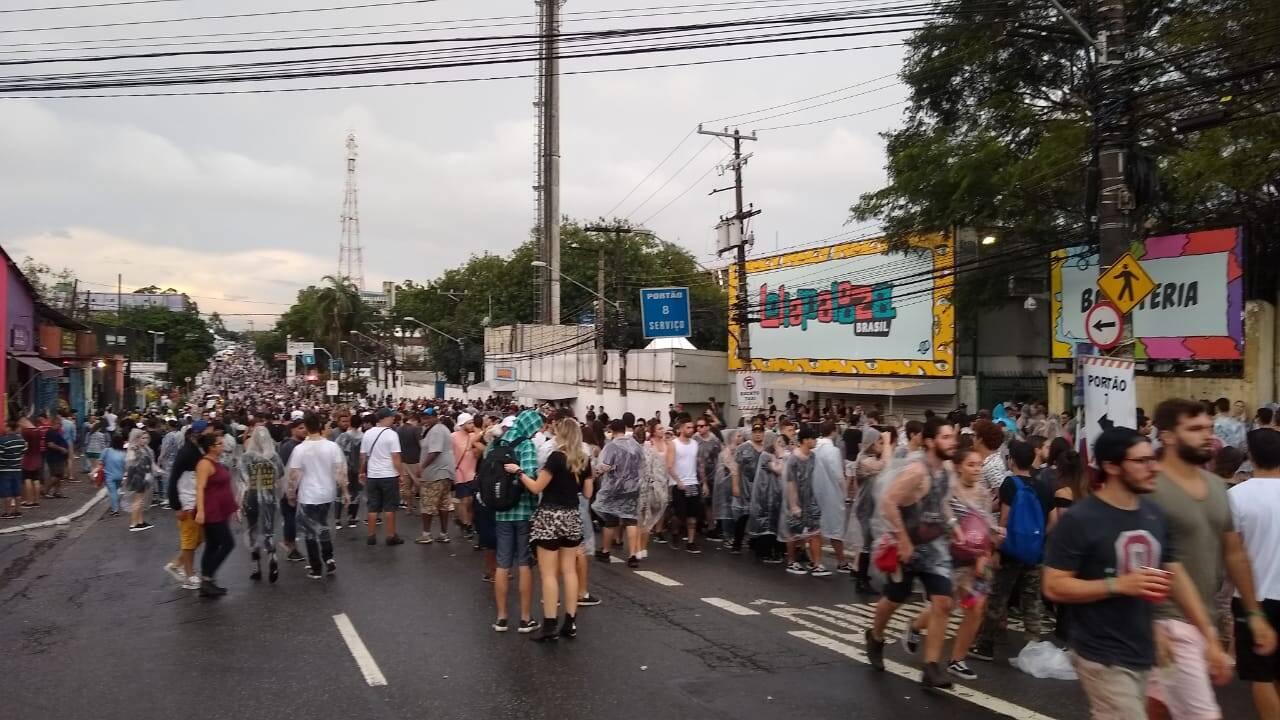 Lollapalooza. Foto: iG São Paulo