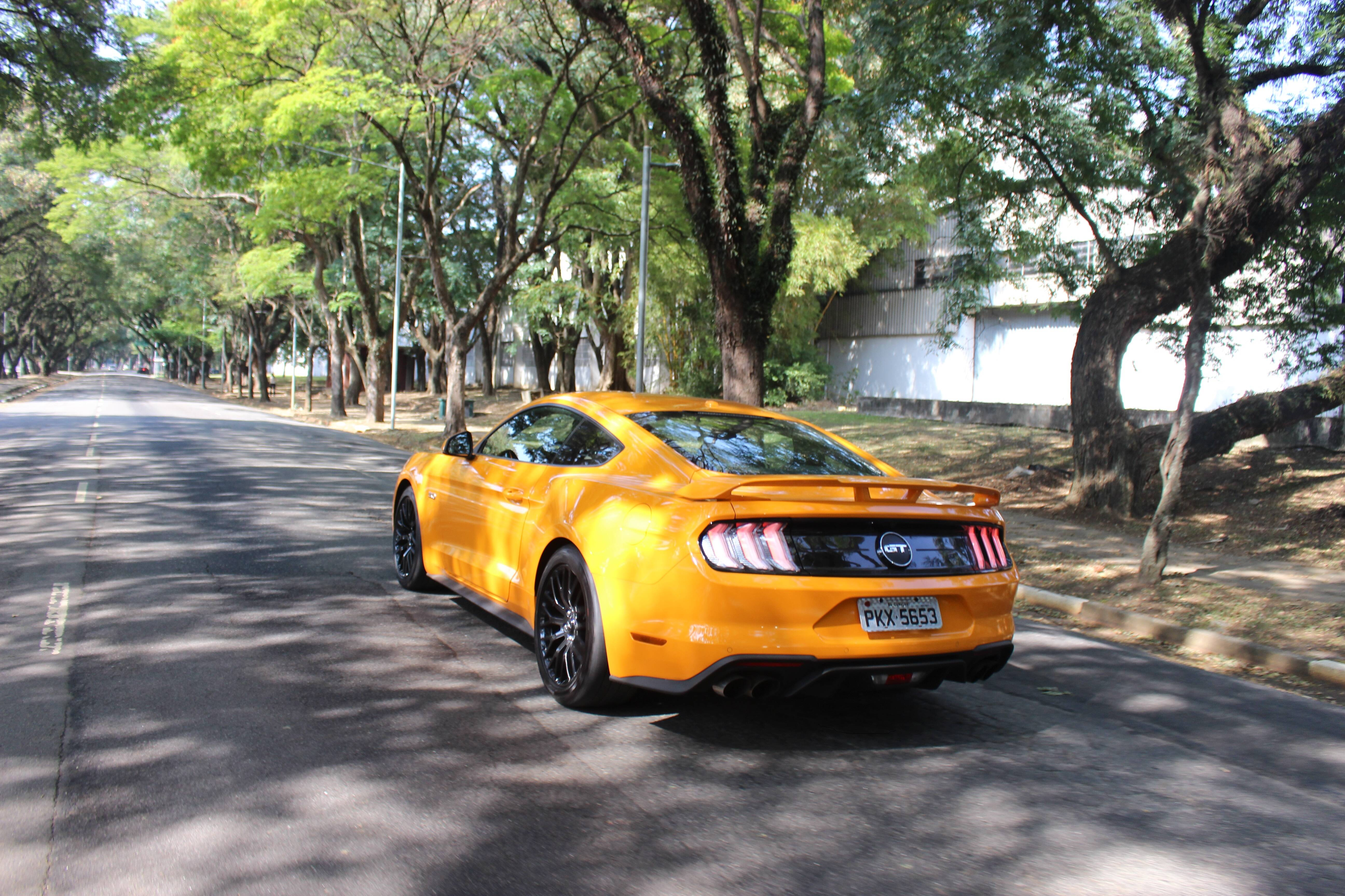 Ford Mustang. Foto: Caue Lira/iG