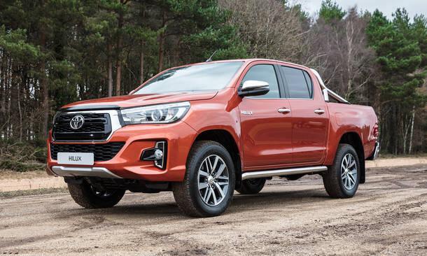 Toyota Hilux, picape média, 10,9% de desvalorização depois de um ano. Foto: Divulgação