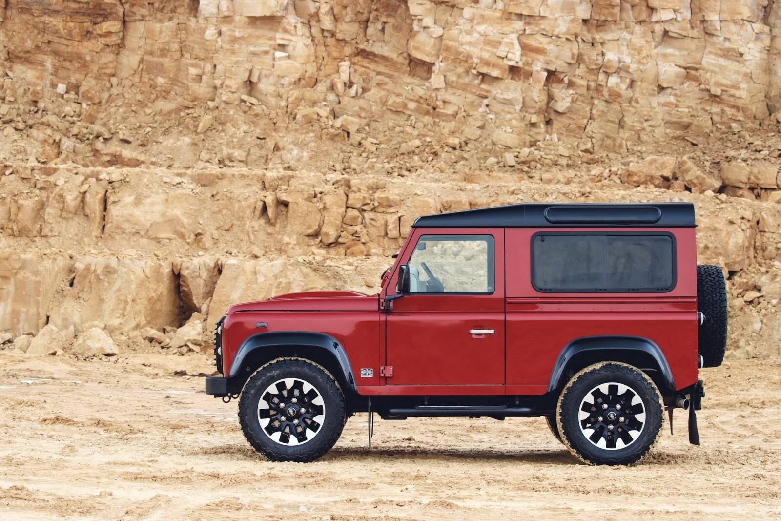 Land Rover. Foto: Divulgação