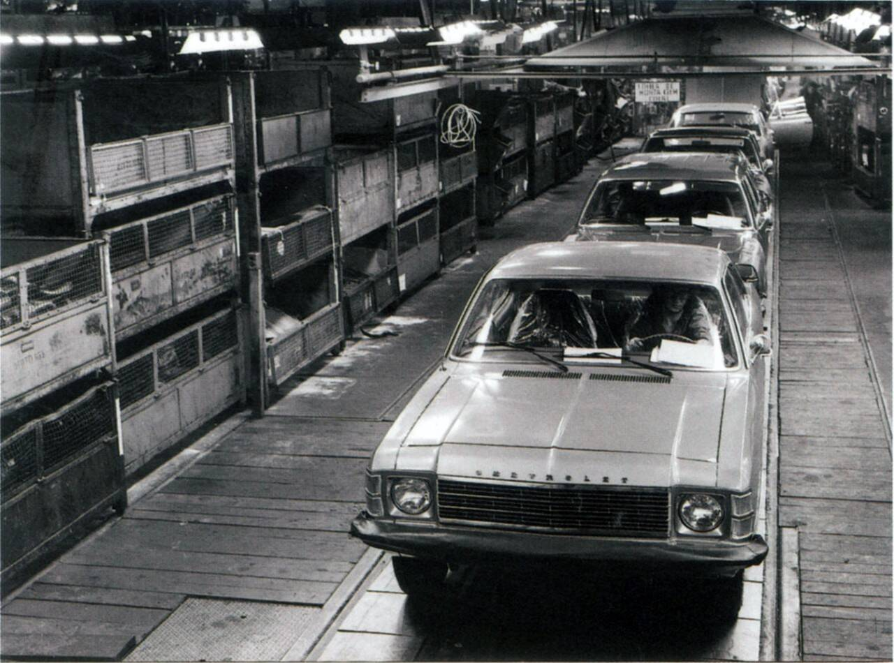 Lançado em 1968, o Chevrolet Opala foi o primeiro carro de passeio nacional da marca. Foto: Divulgação