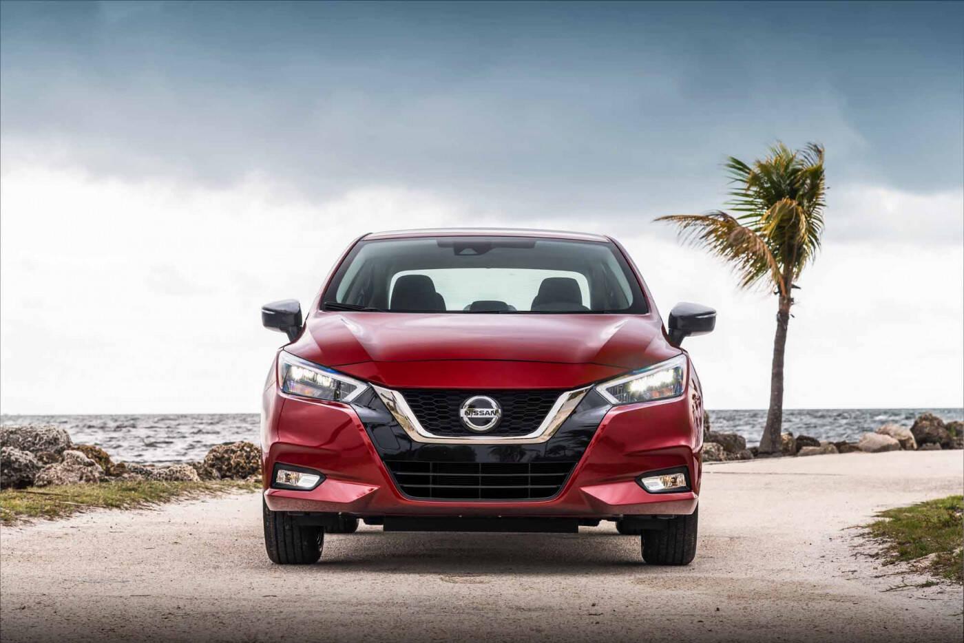 Nissan Versa. Foto: Divulgação